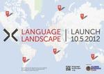 Language Landscape : Launch 10.5.2012 (poster)