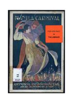 Manila Carnival Commercial and Industrial Fair