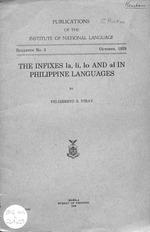 Infixes la, li, lo and al in Philippine languages