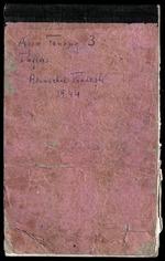 Field notes, Apa Tanang, No. 3, Arunachal Pradesh, 1944 (PP MS 19/01/02/6/084)