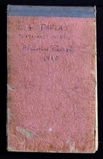 Field notes, No. 4, Daflas, Apa Tanangs, Miris. Arunachal Pradesh, 1945 (PP MS 19/01/02/6/085)