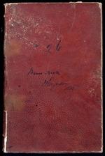 Memo book entitled 'W Fergusson 1840'