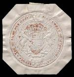 Seal of Her Majesty's High Court of Justice, Probate Division, district registry Exeter