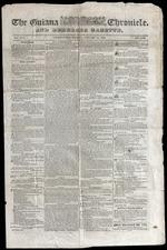 Guiana chronicle, and Demerara gazette