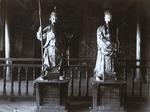 Idols in temple, Canton