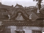Views showing some of the ornamental roofs in native city, Shanghai