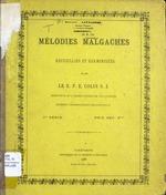 Mélodies malgaches : crecueillies et harmonisées