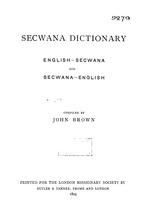 90581b1274d Secwana dictionary   English-SeCwana and SeCwana-English