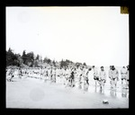 [Chinese Labour Corps, 1916 - paddling on the edge of Vancouver Island]
