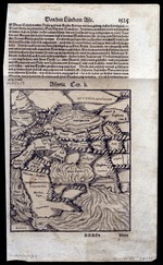 Assyria by mapmakers Munster and Petri published in Basle with text in German (MCA/01/01/01/08)