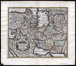 Carte la plus-nouvelle et plus-exacte du Royaume de Perse [The newest and most accurate map of the Kingdom of Persia] published in Leiden by Pieter van der Aa (MCA/01/01/03/18)