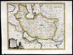 An accurate map of Persia by George Rollos Geogr[apher], published in London (MCA/01/01/06/12)
