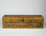 Sa-daik [Buddhist manuscript chest] and Kammavaca [Buddhist ordination manuscript]