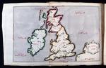 Britanya Adaları Haritası