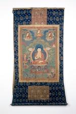 Śākyamuni Buddha in the teaching posture