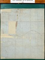 David Livingstone, manuscript map of 'Journey thro' Barotseland'