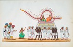 Bride and bridegroom : from an album of Company paintings of occupations and festivals