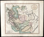 A new map of Persia from the latest authorities by engraver John Cary, published in London (MCA/01/01/06/19)