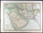 Persia, Arabia and Cabul [Kabul] drawn by J Smith, engraved by W R Gardner  for Smith's Atlas, and published in London by Charles Smith (MCA/01/01/06/35)