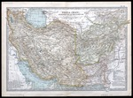 Persia (Iran) Afghanistan and Baluchistan [Balochistan] engraved by the Matthews-Northrup Co of Buffalo and published in New York by Benjamin E Smith, The Century Co (MCA/01/01/07/08)