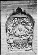 [Temple relief]