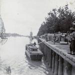 Photograph captioned 'Bund of British Concession, Tientsin'