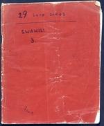 29 Swahili Love Songs (MS 380546a)