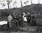 Photograph, 'Mrs. Galton's Picnic party'
