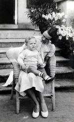 "Photograph, '26th November, 1934, ""John Alan"" – one year old'"