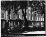 Philips Building: houses in Woburn Square prior to construction