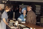 Attendence of HRH the Queen Mother at the opening of the Philips Buiding