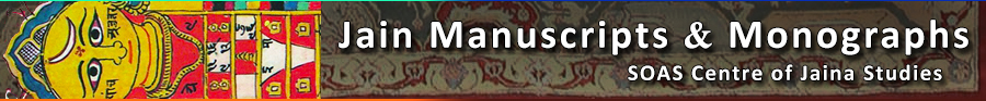 Jain Manuscripts & Monographs