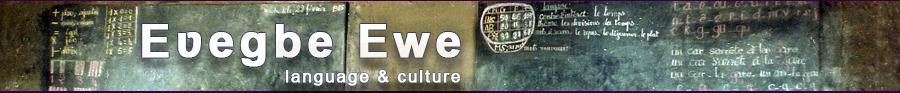 Ewe Language & Culture