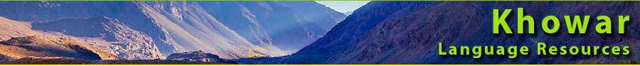 Khowar Language Resources