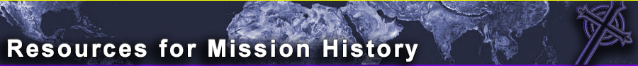 Resources for Mission History