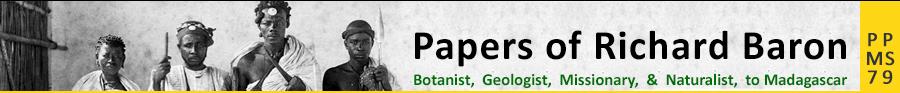 Papers of Richard Baron