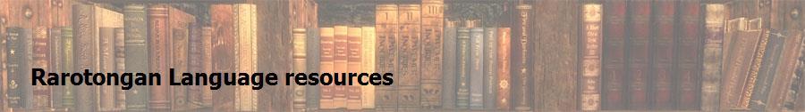 Rarotongan Language resources